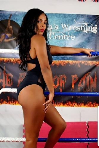 Havana Female Wrestler